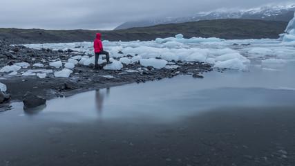 Gletscher Abenteuer in Island, Februar 2017