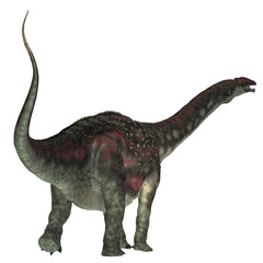 Diamantinasaurus Dinosaur Tail - Diamantinasaurus was a herbivorous sauropod dinosaur that lived in Australia during the Cretaceous Period.