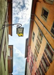 Looking up - Annecy