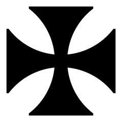 Maltese cross icon