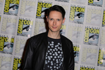 Samuel Barnett poses during an event at Comic Con International in San Diego