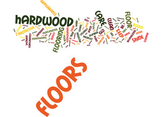 FLOOR CARE Text Background Word Cloud Concept