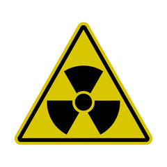 Triangle Radiation Sign - Nuclear Threat