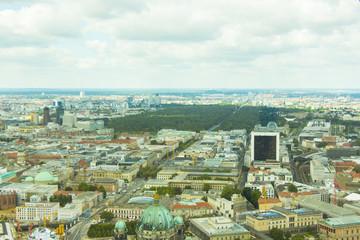 Berlin panorama streets