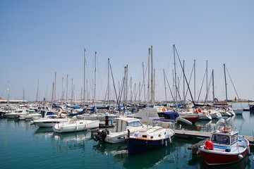 Jachthafenin Vila Real de santo Antonio