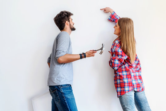 Choosing where to hang a painting in new home