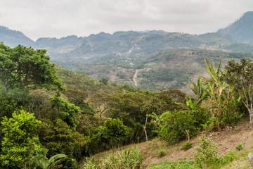 Mountains near Belen Gualcho village, Honduras