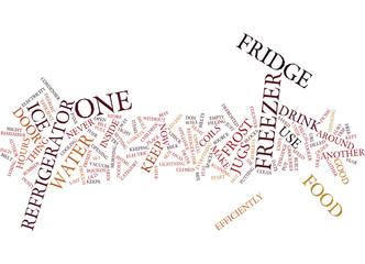 YOUR FRUGAL FRIDGE Text Background Word Cloud Concept