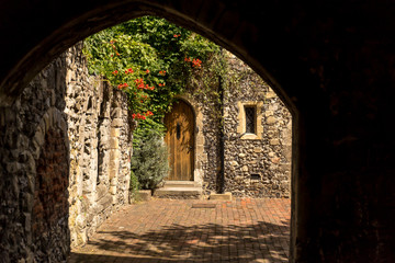 Canterbury view in summer, Kent