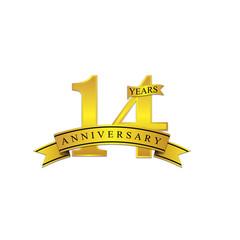 14 anniversary year gold