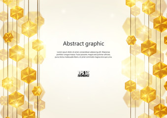 Diamond Lines Background. Eps10 Vector illustration.