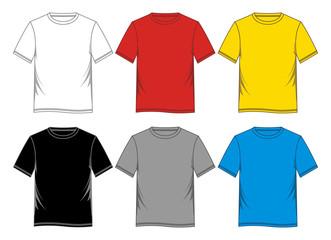 template t-shirt blank
