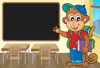 School monkey theme image 2