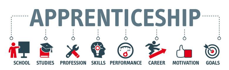 apprenticeship concept icons