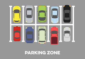 full Parking Zone