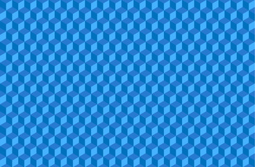 Blue abstract background of volume objects