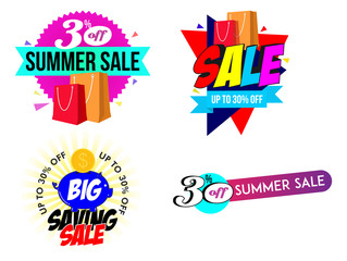 Sale Banner and Summer Banner