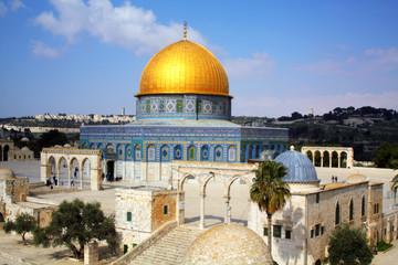 Mousque of Al-aqsa in Old Town - Jerusalem