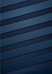 Abstract blue tech corporate stripes background