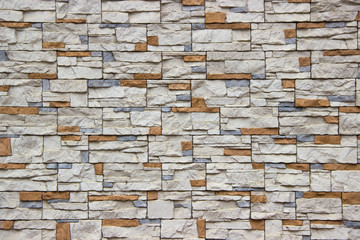 Rustic stone surface in random pattern