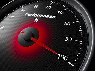 Performance speedometer
