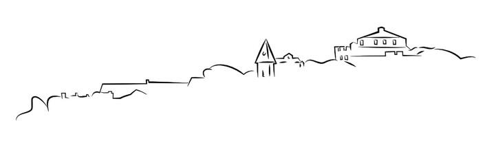 Saint Florent Corse dessin