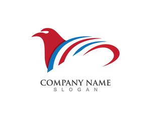 Falcon logo symbol and vector