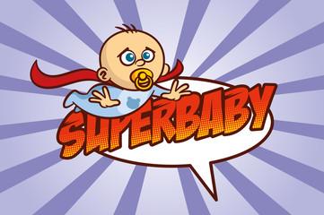 Superhero Baby Boy