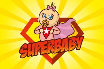Superhero Baby Girl