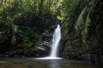Wasserfall nahe Salente, Zona Cafetera, Kolumbien