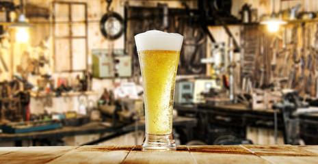 beer and workshop