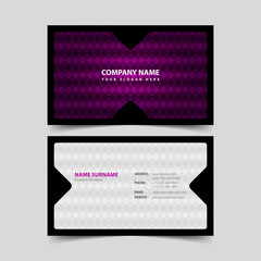 Company Business Card Design Template.