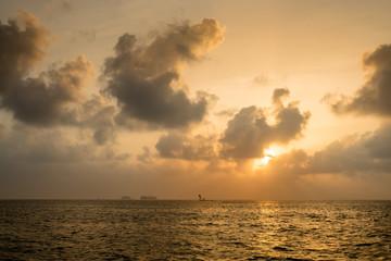 Sonnenuntergang in Guna Yala, San Blas Inseln, Panama