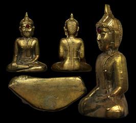 Luang Phor Phra Sai Nongkhai Thai Buddha Amulet