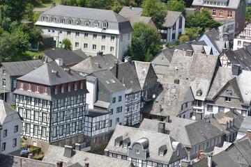 Beautiful Monschau in Germany