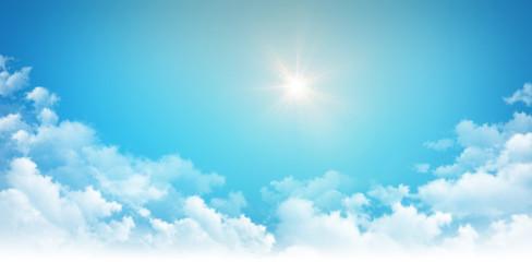 Sunshine high in the sky