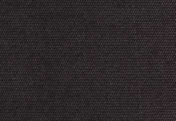 Polyamide fabric background, texture. Brilliant black color, high resolution