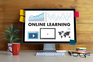 ONLINE LEARNING Connectivity Technology Coaching online Skills Teach Digital Online Internet