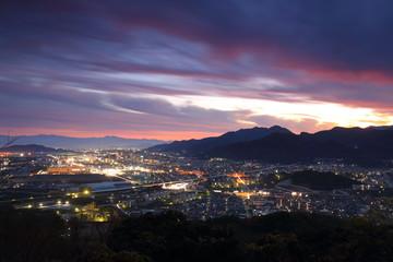 苅田の夜景