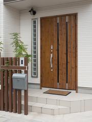 Fototapete - 住宅の玄関