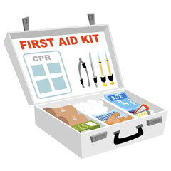 First Aid Kit Open