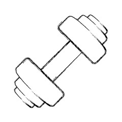 Gym dumbbell weigth