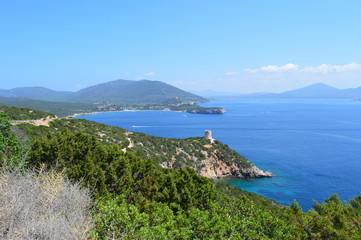 Paysage du Capo Caccia en Sardaigne