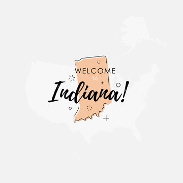 Welcome to Indiana state map
