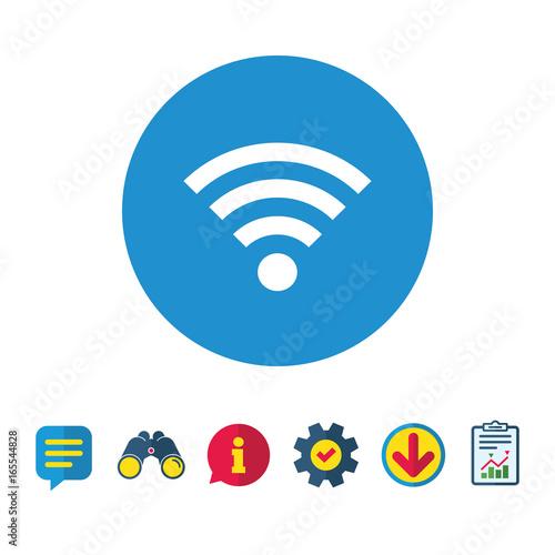 Wifi Sign Wi Fi Symbol Wireless Network Icon Wifi Zone