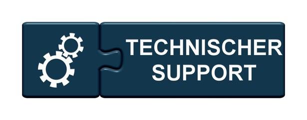 Puzzle Button zeigt Technischer Support