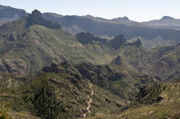Landscape of Gran Canaria, Canary Islands