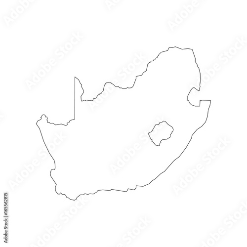 South Africa Map Outline Stock Image And Royalty Free Vector Files