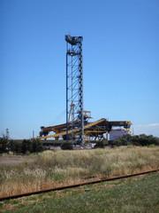 Scene of the Port of Newcastle, NSW Australia.