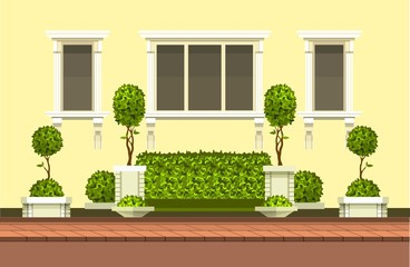 topiary garden plants